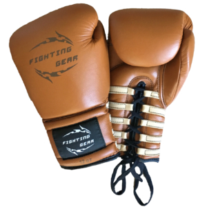 FG Gloves old boxing brown