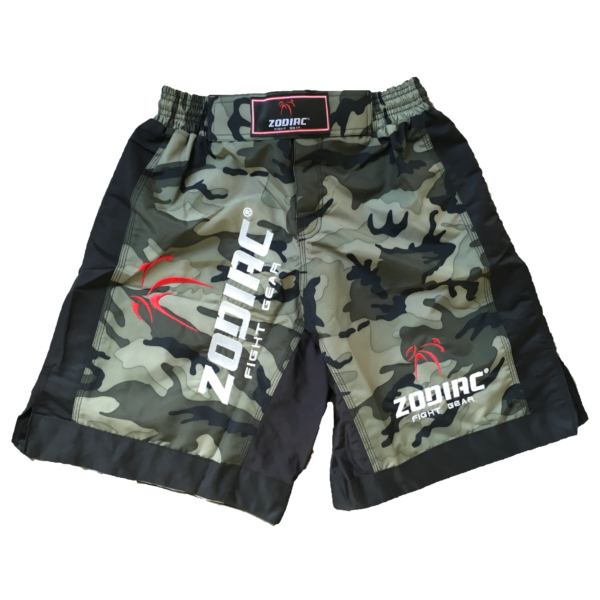 MMA short M1 Army:Black