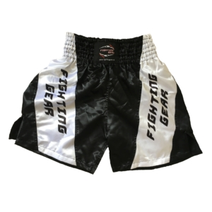 FG boxing short black:white