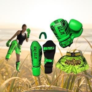 superdeal neon groen